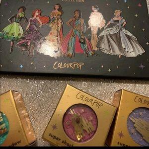 COLOURPOP Disney Princess Eye Shadows 3 Colors NEW